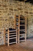 Cellier à vin modulable - Dimensions (L x P x H) mm : 575 x 385 x 788
