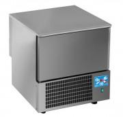 Cellule de refroidissement Inox 3 à 10 niveaux - Capacité de réfrigération (kg) : 14 - 20