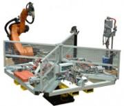 Cellule robotisée de goujonnage - Goujonnage