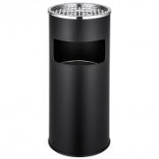 Cendrier avec tamis-Corbeille à papier - BP150590-NO