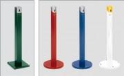 Cendrier colonne sur pied - Hauteur (mm) : 1005