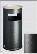 Cendrier corbeille alu - Capacité (L): 32