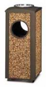 Cendrier corbeille d'extérieur 15 Litres - Capacité (L) : 15