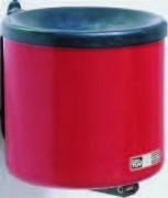 Cendrier de sécurité anti incendie mural - Cendrier en acier ou polyéthylène