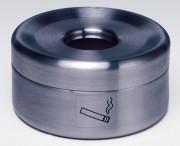 Cendrier de table en inox - Dimensions (D x H) mm : 150 x 50