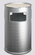 Cendrier en aluminium - Capacité (L): 50.