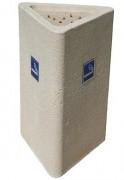 Cendrier extérieur béton - Capacité de sable : 7 litres