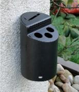 Cendrier extérieur élégant - Lot de 15 cendriers - Dimension (mm) :  Ø80 x130