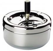 Cendrier métal chromé - 401054