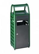 Cendrier poubelle 25 litres - 3 coloris disponibles - Capacité de 2000 mégots