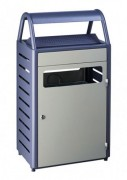 Cendrier poubelle 50 litres - 3 coloris disponibles - Capacité de 4500 mégots
