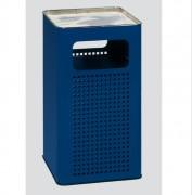Cendrier poubelle 96 L - Fabrication en tôle d'acier galvanisé.