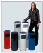 Cendrier poubelle acier galvanisé