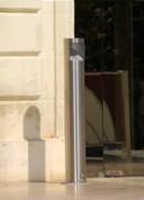 Cendriers bornes inox - 3 Modèles : à fixer au sol - à sceller - mural