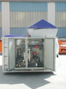 Centrale à saumure avec stockage intégré