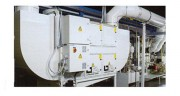 Centrale d'aspiration modulaire - Filtration mécanique-électrostatique - Puissance: de 2400 à 24000 m3/h
