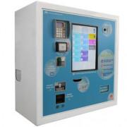 Centrale de paiement interactive - Dimensions (L x H x P) : 74 x 72 x 35 cm