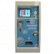 Centrale de paiement tactile à encastrer - Dimensions (L x H x P) : 42 x 87 x 44 cm