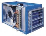 Centrale de traitement d'air à eau chaude ou froide - Traitement d'air   -  Pressurisation