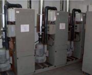 Centrale industrielle d'aspiration - Débit ( m3/h) : de 450 à 650