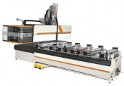 Centre d'usinage bois 3 ou 4 axes - Capacités : 3060 ou 5260 mm x 1550 ou 1965 mm