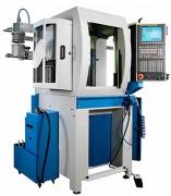 Centre d'usinage vertical 3 à 4 axes simultanés - Travail : 0-20 m/min - Résolution : 1 µ