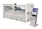 Centre usinage 4 axes banc de 3.5 m - Course utile : X : 3000 mm - Y : 400 mm