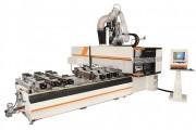 Centre usinage 5 axes bois - Capacités machine : 3060 ou 5260 x 1480 mm.