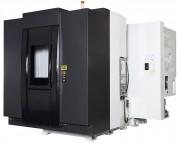 Centre usinage horizontal 4 axes palettisé - Diamètre usinable : 800 x 1100 mm