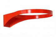 Cercle basket anti-vandalisme - Matière : acier galvanisé 18mm - Diamètre : 450 mm - 4 points de fixation