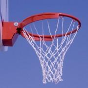 Cercle basket compétition à déclenchement - Poids : 105 kg - Intérieur et extérieur - Normes FIBA et FFBB