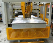 Cercleuse automatique de cartons imprimés - Cadence : 20 à 30 cerclages/mn