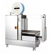 Cercleuse automatique latérale inox alimentaire - Cadence de 35 cycles / minute