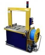 Cercleuse full automatique - Machine de cerclage pour grand flux de produits - Poids : 210 kg