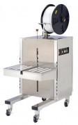 Cercleuse latérale inox semi automatique - Bâti et table inox 304 - Hauteur de soudure 883 mm - PP