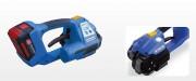 Cercleuse par friction sur batterie - Feuillard PP : de 9 à 13 mm - Epaisseur : de 0.5 à 0.8 mm