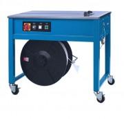 Cercleuse semi-automatique pour feuillard polypropylène - Machine de cerclage à pieds montés sur roulettes
