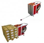 Cercleuse semi automatique verticale - Largeur feuillard 12 mm