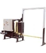 Cercleuse verticale automatique - Temps de cycle de cerclage : entre 1.2 et 2.3 secondes