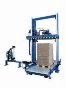 Cercleuse verticale pour industrie du carton - Cadence : 60 palettes/heure