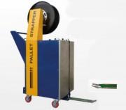Cercleuse verticale semi-automatique de palettes - Production approx. : 30 - 40 palettes / heure
