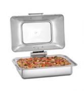 Chafing dish à plaque de cuisson induction ou vitrocéramique encastrable - Réglage température avec plaque de cuisson externe