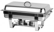 Chafing dish en acier inoxydable - Dimensions : 600 x 360 x 238 mm