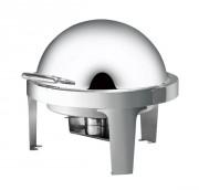 Chafing dish rond en acier - Dimensions : 500 x 500 x 295 mm