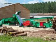 Chaine de production de bois - Lames remplaçables et réaffûtables plusieurs fois