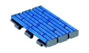 Chaîne pour manutention - Renforcée en plastique-convoyage courbe et rectiligne de caisses