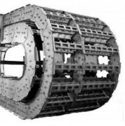 Chaines porte-câbles en métal - 4 Hauteurs : 45, 70, 100 ou 140 mm