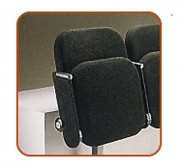 Chaise auditorium pliable