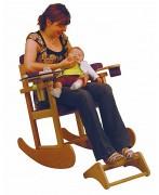 Chaise bascule pour allaiter - Hauteur d'assise : 44 cm