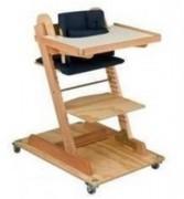 Chaise basse enfant handicapé - Dim. (L x h x prof.) : 43 x 55 x 54cm